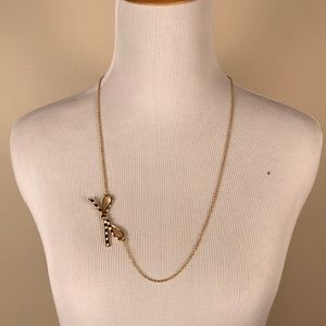 NWT Kate Spade Skinny Mini Gold Plated Necklace